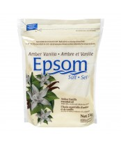 Rougier Amber Vanilla Epsom Salts - Magnesium Sulfate