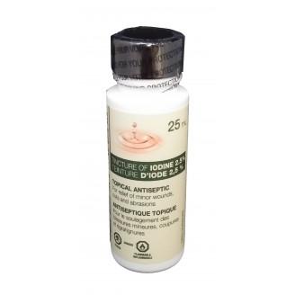 Rougier Tincture of Iodine 2.5% Topical Antiseptic