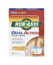 Rub A535 Dual Action Back Patches