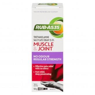 Rub A535 Regular Strength Muscle & Joint No Odour Cream