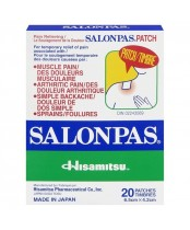 Salonpas Pain Relieving Topical Patch