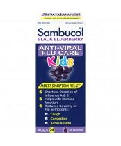 Sambucol Kids Anti-Viral Flu Care Syrup - Black Elberberry