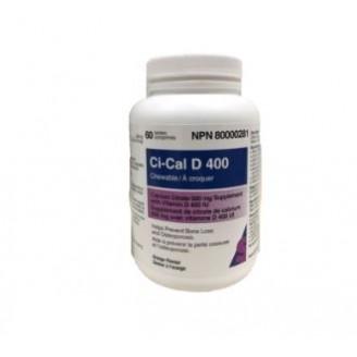 Sandoz Ci-Cal D 400 Chewable Orange Flavour