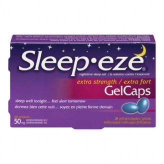Sleep Eze Extra Strength Gel Caps