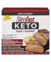 SlimFast Keto Peanut Butter Chocolate Bar
