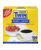 Sugar Twin Calorie Free Sweetener Packets
