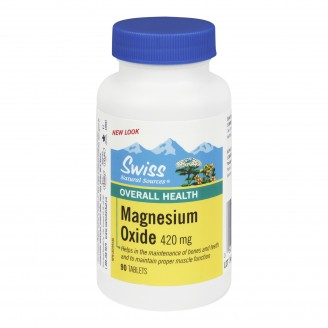 Swiss Natural Sources Magnesium Oxide