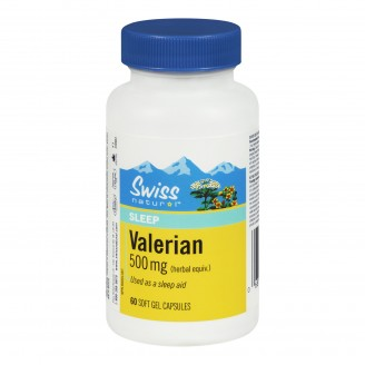 Swiss Natural Sources Valerian Soft Gels