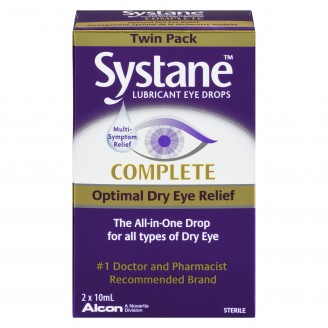 Systane Complete Optimal Dry Eye Relief Twin Pack