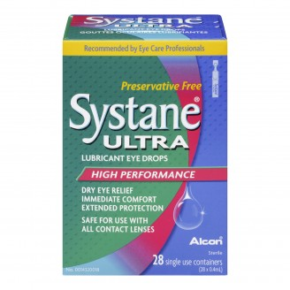 Systane Ultra Lubricant Single Use Eye Drops