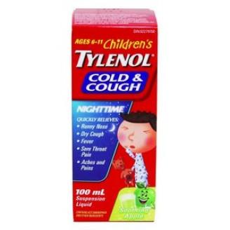 Tylenol Children's Cold & Cough Nighttime Liquid