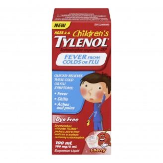 Tylenol Children's Fever From Colds or Flu