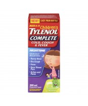 Tylenol Complete Children's Cold, Cough & Fever Nighttime Suspension Liquid