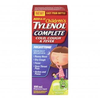 Tylenol Complete Children's Cold, Cough & Fever Nighttime Suspension Liquid