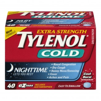 Tylenol Extra Strength Cold Nighttime