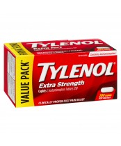 Tylenol Extra Strength, Fast Pain Relief Value Pack (200 Caplets)