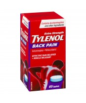 Tylenol Extra Strength for Back Pain, Muscle Relaxant + Effective Pain Reliever