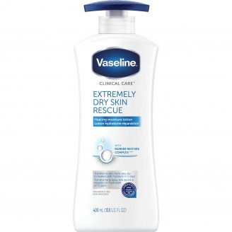 Vaseline Clinical Care Extremely Dry Skin Rescue Body Lotion - 400 mL