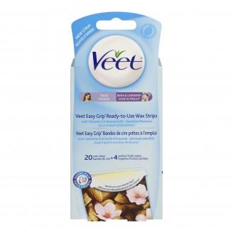 Veet Easy to Use Wax Strips for Face & Bikini