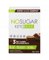 Vegan Pure No Sugar Keto Bar Chocolate Fudge Brownie