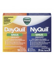 Vicks DayQuil NyQuil Sinus Liquicaps Combo Pack