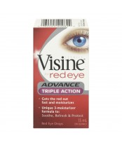 Visine Red Eye Advance Triple Action Eye Drops