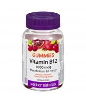 Webber Naturals Vitamin B12 Gummies Cherry Pomegranate