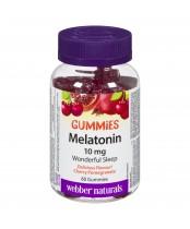 Webber Naturals Melatonin Gummies Cherry Pomegranate