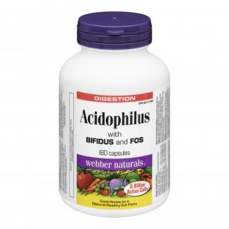 Webber Naturals Acidophilus with Bifidus and FOS