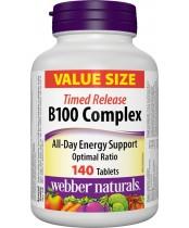 Webber Naturals B 100 Complex Time Release