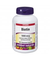 Webber Naturals Biotin 1000mcg