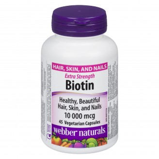 Webber Naturals Biotin Extra Strength