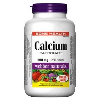 Webber Naturals Calcium Carbonate Tablets