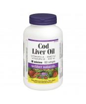 Webber Naturals Cod Liver Oil Softgels