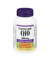 Webber Naturals Coenzyme Q10 Bonus Pack