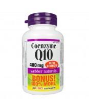 Webber Naturals Coenzyme Q10 Ultra Strength Bonus Size