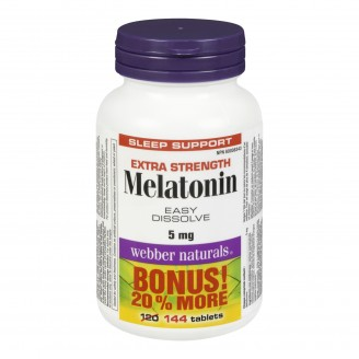 Webber Naturals Extra Strength Melatonin Bonus Pack