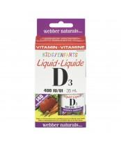 Webber Naturals Kids Liquid Vitamin D3