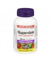 Webber Naturals Magnesium Tablets