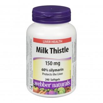 Webber Naturals Milk Thistle Softgels