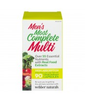 Webber Naturals Most Complete Multi Vitamin For Men 90