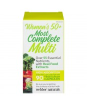 Webber Naturals Most Complete Multi Vitamin For Women 50+