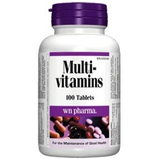 Webber Naturals Multivitamins Tablets