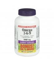 Webber Naturals Omega 3-6-9 Bonus Pack
