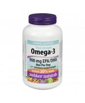 Webber Naturals Omega-3 Enteric Coated Softgels