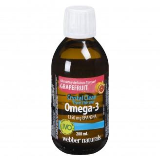 Webber Naturals Omega 3 Grapefruit