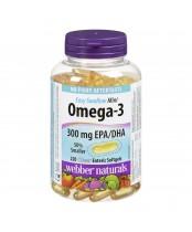 Webber Naturals Omega-3 Mini Clear Enteric Softgels