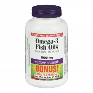 Webber Naturals Omega-3 Salmon & Fish Oils