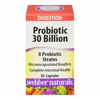 Webber Naturals Probiotic 30 Billion Capsules