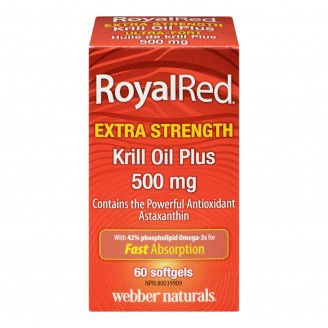 Webber Naturals RoyalRed Krill Oil Plus Softgels
